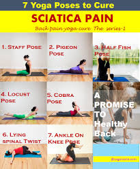 7 yoga poses to cure sciatica pain