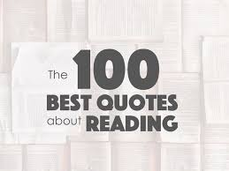 the best quotes about reading