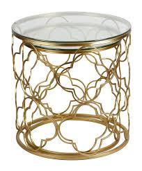alexina 2 piece nesting tables round