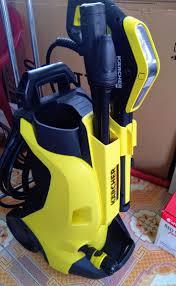 Máy xịt rửa xe gia đình chỉnh áp áp lực cao Karcher K4 Full Control EU (Kèm  đầu trà sàn áp lực PS20)