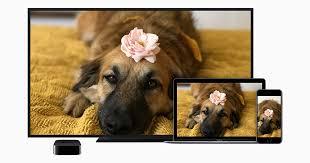 reproduzir vídeos e espelhar a tela