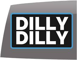 Amazon Com Window Swag Dilly Dilly Color Decal Funny Vinyl Sticker Automotive