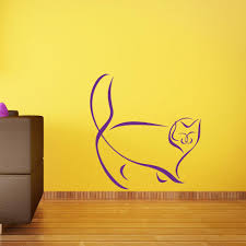Persian Cat Wall Decal Style And Apply