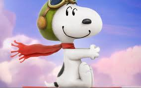 the pilot snoopy wallpaper id 1728