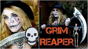 grim reaper makeup tutorial you