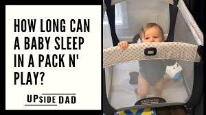baby sleep in a pack n play