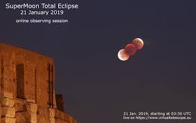 21 gennaio 2019, eclissi totale di Superluna: diretta online - The ...