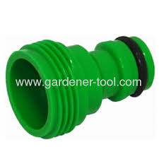 garden hose end with male thread