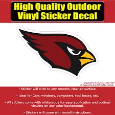 Arizona Cardinals Vinyl Car Window Laptop Bumper Sticker Decal Colorado Sticker