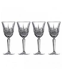 waterford maxwell white wine glasses