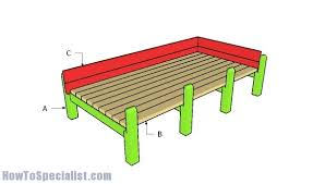 waist high raised garden bed plans