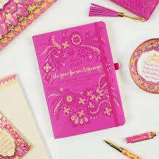 mystic magenta pink diary planner journal new beginnings