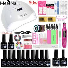 a7 36 48 80w acrylic nail kit nail