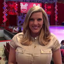"""Katelyn Smith on Twitter: """"Getting ready to introduce @DisneyOnIce @ Giant  Center! (tried to make it look like I was wearing the ears) @WGAL  https://t.co/bytTX68lNa"""""""