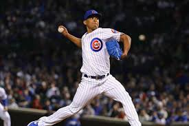 Adbert Alzolay dazzles in big-league debut, pitches 4-plus innings to earn  victory over Mets - Chicago Sun-Times