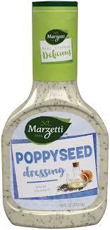 poppyseed salad dressing nutrition