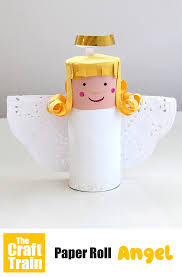 paper roll angel the craft train