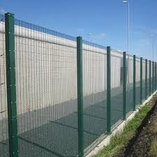 High Security Fence Heavy Double Wires Securifor 2d Betafence