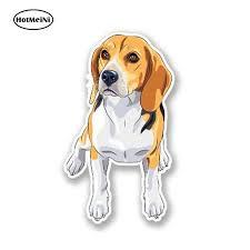 Hotmeini 13cm X 8cm Cartoon Beagle Dog Decal Personality Car Styling Cute Animal Car Sticker Vinyl Diy Waterproof Graphic Car Stickers Aliexpress