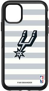 Otterbox San Antonio Spurs Striped Iphone Case Dick S Sporting Goods