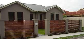 21 Unique Fence Ideas Backyard Fences Fence Design Brick Fence