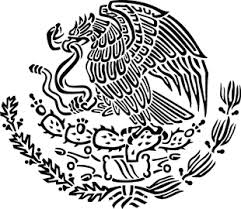 Customizable Mexican Eagle Vinyl Decal