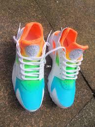 tie dye nike air huarache the base shoe