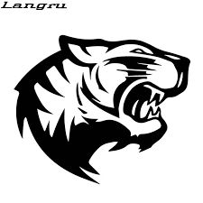 6 5 Laptop Sticker Detroit Tigers D Old English Car Decal White