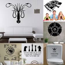 13 Style Multi Size Stark Vinyl Decal Game Of Thrones Sticker Fashion Tv Poster Wall Stickers Living Room Home Decoration Free S Game Of Thrones Sticker Wall Stickergame Of Thrones Aliexpress