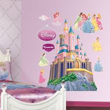Fathead Disney Princess Castle Wall Decal Reviews Wayfair