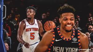 Knicks Dennis Smith Jr. Is In Dallas, But Says He Doesn't Plan on ...