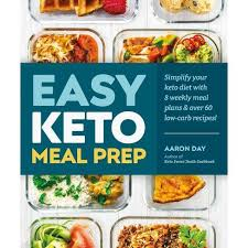 Easy Keto Meal Prep - By Aaron Day (Paperback) : Target