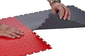 interlocking pvc garage floor tiles