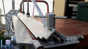 sheetmetal brake full set plans