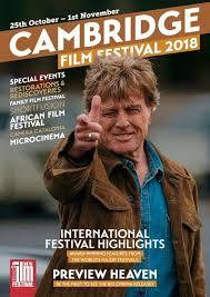 2018 cambridge film festival brochure