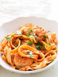 Shrimp Pasta alla Vodka Recipe (with ...