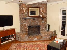 built ins around a corner fireplace