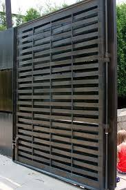 Pin By Jewell Remodeling On Superior Exteriors Fence Design Metal Gates Fence