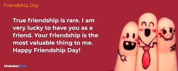 happy friendship day best wishes quotes facebook and