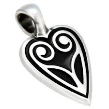 bico pacific tribal pewter pendant surf
