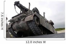 M88a2 Hercules Recovery Vehicle Wall Decal Wallmonkeys Com