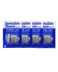 4 Pack Of Invisible Fence Brand Power Cap Batteries