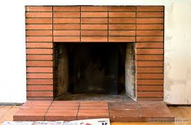 how to clean fireplace bricks simple