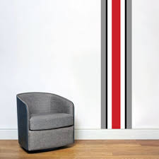 Shop Ohio Red Black Gray Stripe Wall Decal On Sale Overstock 10759757