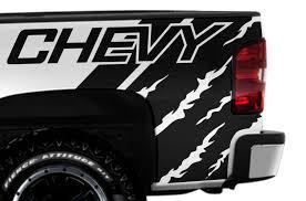 Chevrolet Silverado 2008 2013 1500 2500 3500 Custom Vinyl Decal Wrap Kit Chevy Quarter Factory Crafts