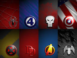 superhero logos wallpapers wallpaper cave