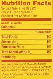 lipton tea box of 104 nortram rel
