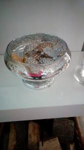 glass bowl with separate set of lights