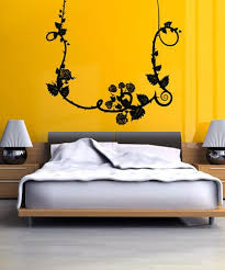 Vinyl Wall Decal Sticker Hanging Rose Vine 5169 Stickerbrand