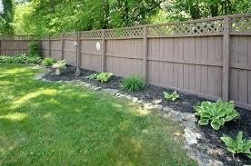 Fence Edging Ideas Garden Yard Ideas Backyard Landscaping Designs Backyard Garden
